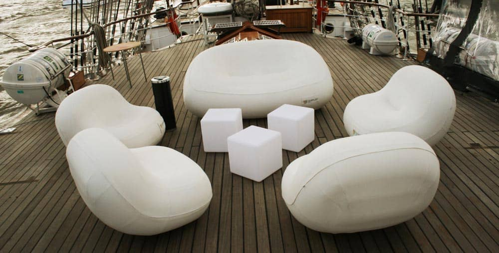 Bilder zu den FUGU aufblasbaren Möbeln - FUGU - aufblasbare Möbel